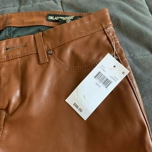 BLANK NYC Faux leather pants